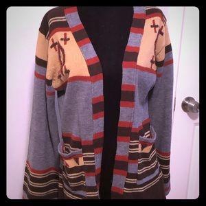 True Vintage boho sweater